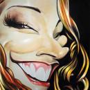 Ana Carolina – Technique: acrylic on canvas