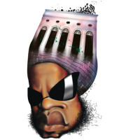 Carlinhos Brown – Técnica: pintura digital