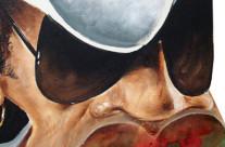 Carlinhos Brown – Técnica: acrílica