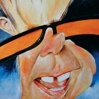 Elton John – Técnica: acrílica