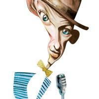 Frank Sinatra – Technique: watercolor