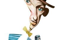 Frank Sinatra – Técnica: aquarela