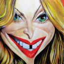 Madonna – Technique: acrylic on canvas