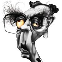 Nelson Rodrigues – Técnica: pintura digital