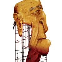 Oscar Niemeyer – Técnica: acrílica