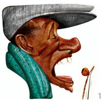 Riachão – Técnica: pintura digital