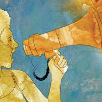 Illustration on politics for women